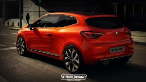 Renault Clio 3-Door by X-Tomi Design 2019 года