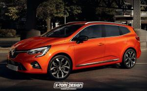 2019 Renault Clio GrandTour by X-Tomi Design