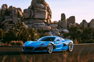 Rimac C_Two California Edition 2018 года