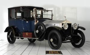 Rolls-Royce Silver Ghost 40/50 Coupe deVille by Mulbacher 1920 года