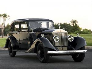 Rolls-Royce Phantom I Saloon by Martin & King 1925 года