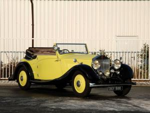 Rolls-Royce 20 HP Drophead Coupe 1926 года