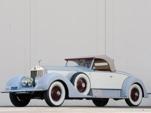 Rolls-Royce Phantom I Playboy Roadster 1927 года