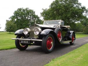 Rolls-Royce Phantom I Springfield Piccadilly Roadster 1927 года