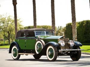 Rolls-Royce Phantom I Springfield Convertible Sedan by Hibbard & Darrin 1929 года