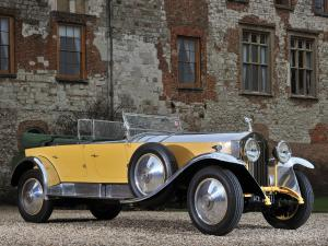 Rolls-Royce Phantom I Tourer by Barker 1929 года