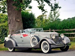 Rolls-Royce Phantom II Dual Cowl Sports Phaeton by Whittingham & Mitchel 1930 года