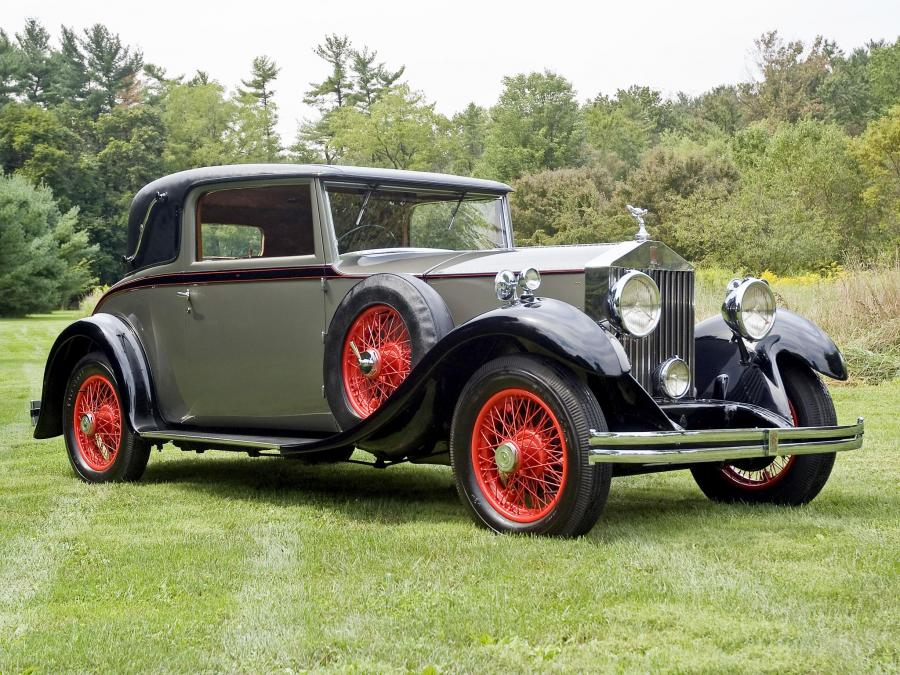 1931 Rolls-Royce 20/25 HP Close Coupled Fixed Head Coupe by Park Ward