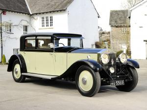 1931 Rolls-Royce Phantom II 40/50 HP Saloon Limousine by Barker