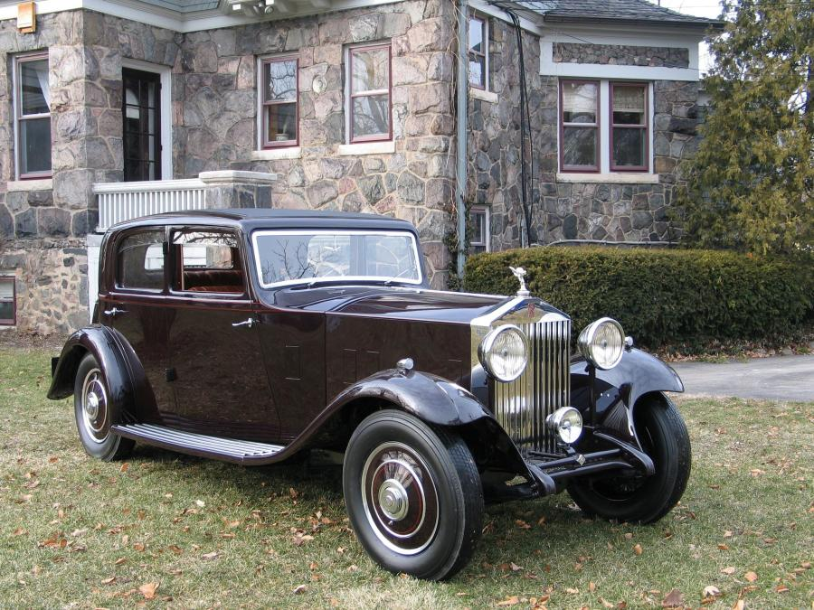 1932 Rolls-Royce 20/25 HP Saloon by Thrupp & Maberly