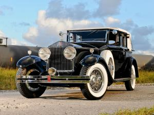 Rolls-Royce Phantom I Springfield Trouville Town Car by Brewster 1932 года