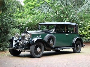 1933 Rolls-Royce 20/25 HP All Weather Saloon by Salmons & Sons