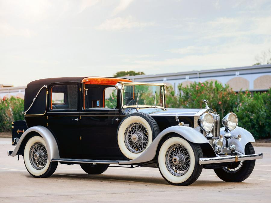 1933 Rolls-Royce 20/25 HP Enclosed Limousine Sedanca by Thrupp & Maberly