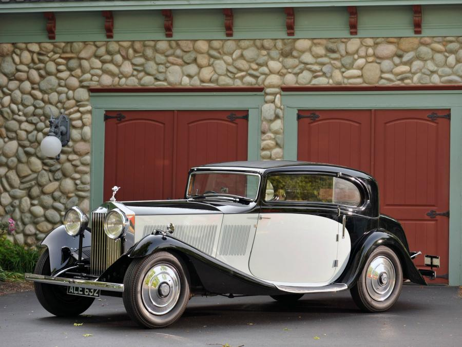 1933 Rolls-Royce 20/25 HP Sports Coupe by Gurney Nutting