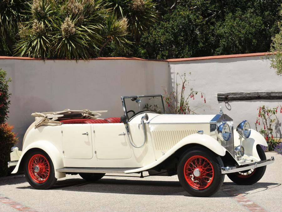 1933 Rolls-Royce 20/25 HP Tourer by Kitchener & Woodiwiss