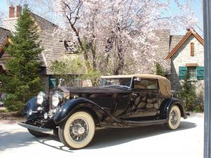 1933 Rolls-Royce Phantom II Continental Three-Position Drophead Coupe by Gurney Nutting