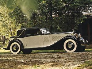 1933 Rolls-Royce Phantom II Fixed Head Coupe