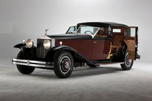 1933 Rolls-Royce Phantom II Special Town Car by Brewster