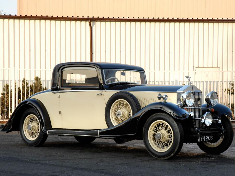 1934 Rolls-Royce 20/25 HP Coupe B2