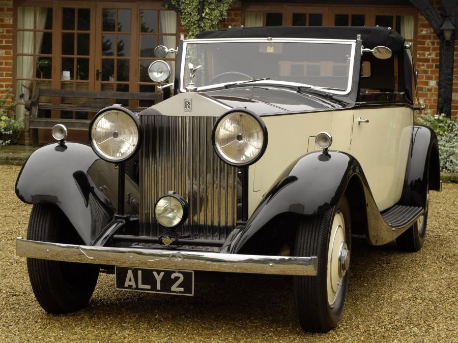 1934 Rolls-Royce 20/25 HP Drophead Coupe by James Young