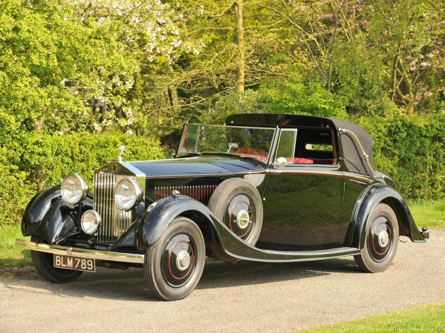 1934 Rolls-Royce 20/25 HP Drophead Coupe by Mulliner