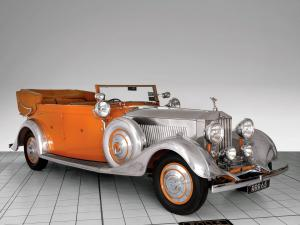 1934 Rolls-Royce Phantom II 40/50 HP Cabriolet Star of India