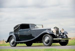 1934 Rolls-Royce Phantom II Continental Drophead Coupe by Gurney Nutting