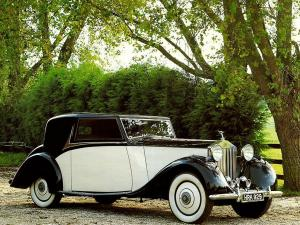 Rolls-Royce 20/25 HP Coupe 1935 года