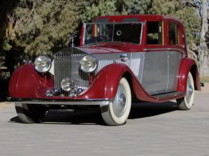 Rolls-Royce Phantom II Sedanca deVille by Barker 1935 года