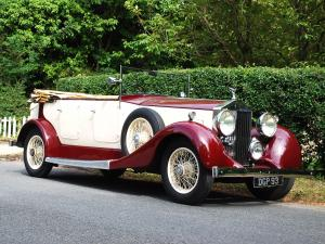 1936 Rolls-Royce 25/30 HP Tourer