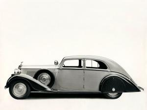 Rolls-Royce Phantom III Saloon by Barker 1936 года