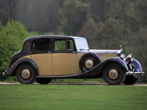 1937 Rolls-Royce 25/30 HP Saloon by Hooper