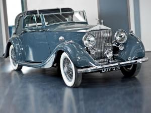 1937 Rolls-Royce 25/30 HP Sedanca Coupe by Hooper