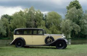 1937 Rolls-Royce Phantom III Limousine by Hooper