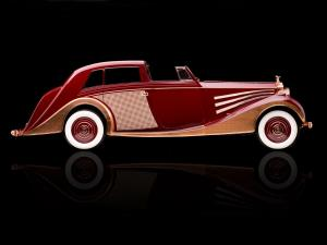 Rolls-Royce Phantom III Sedanca deVille by Freestone & Webb 1937 года