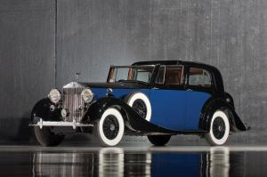 1937 Rolls-Royce Phantom III Sedanca deVille by Mulliner