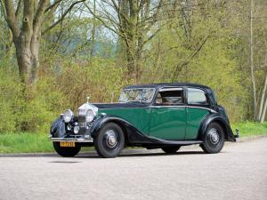 1938 Rolls-Royce 25/30 HP Sports Saloon by James Young