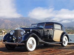1938 Rolls-Royce Phantom III Sedanca deVille by Park Ward