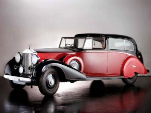 Rolls-Royce Phantom III Sedanca deVille by Park Ward 1940 года