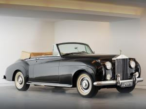 Rolls-Royce Silver Cloud Drophead Coupe by Mulliner 1959 года