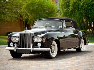 Rolls-Royce Silver Cloud Drophead Coupe 1962 года