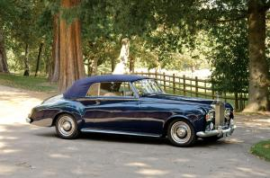 Rolls-Royce Silver Cloud III Drophead Coupe Adaptation by Pilkington 1963 года