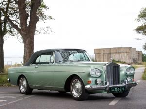 Rolls-Royce Silver Cloud Drophead Coupe by Mulliner-Park Ward 1966 года (UK)