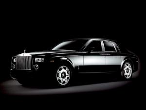 Rolls-Royce Phantom Black 2006 года