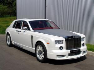 Rolls-Royce Phantom White by Mansory '2010