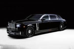 Rolls-Royce Phantom Black Bison by Wald '2011