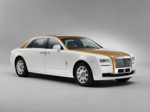 2013 Rolls-Royce Ghost Golden Sun Sunbird