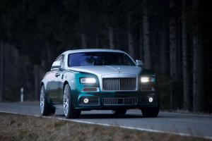 Rolls-Royce Wraith by Mansory 2014 года