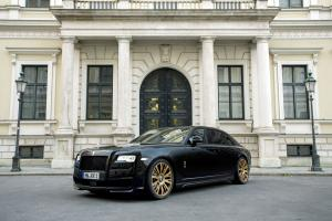 Rolls-Royce Ghost Black One by Spofec 2015 года