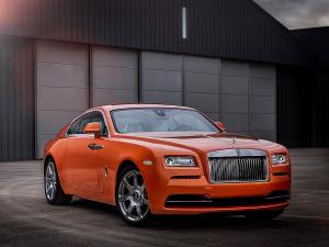 Rolls-Royce Wraith Orange Metallic '2015